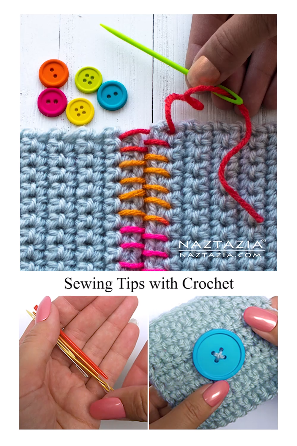 Photo of Sewing Tips with Crochet