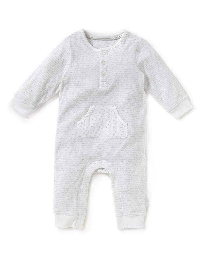 Pure Cotton Striped Onesie £9