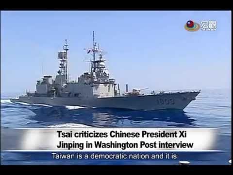 蔡向習喊話:台灣領導者 須照人民意願 Tsai: Beijing must respect out democratic will —宏觀英語新聞