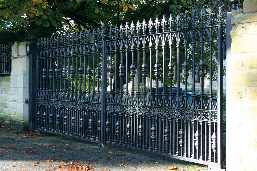 Radleigh Wrought Iron Gates Are Perfect For Any Driveway 0