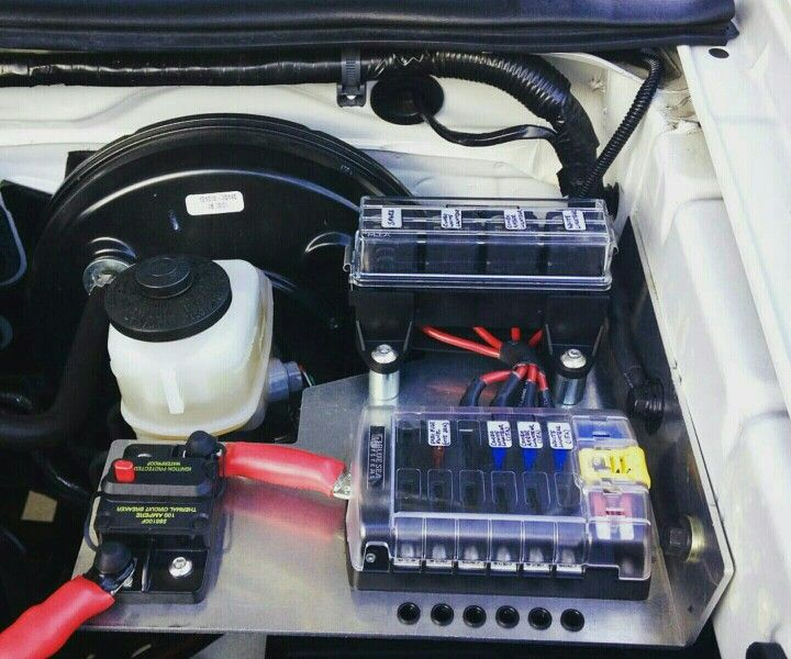 Custom Automotive Fuse Box : Add on auto fuse blocks and power switch car stereos