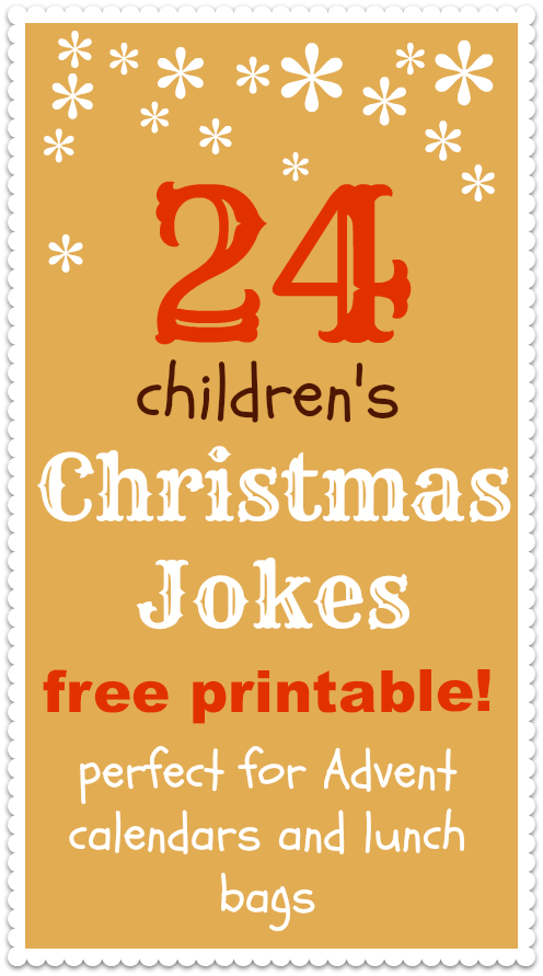 Free Christmas Jokes For Kids Printable Fun Giggles For Kids Advent Calendars And Christmas Theme Lunch Boxes