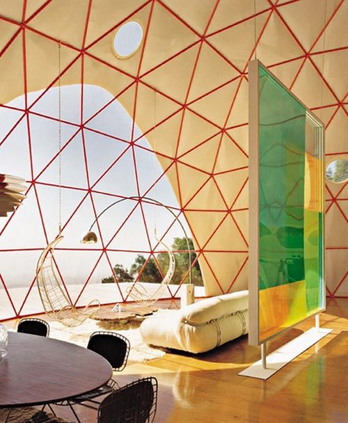Dome Home Interiors: Dome House, Geodesic Dome