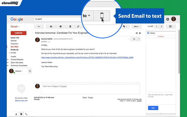 How to Send a Text From Your Email Account (With images