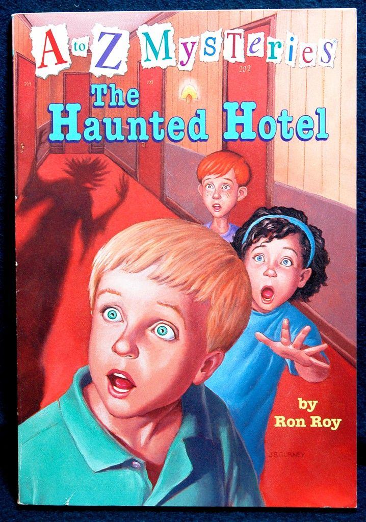 Calendar Mysteries May Magic : A to z mysteries the haunted hotel by