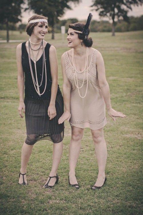 Das 20er Jahre Kleid erlebt ein Comeback in den modernen ...