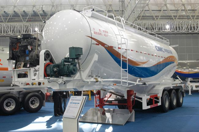 China cement tanker, China cement trailer, China cement carrier