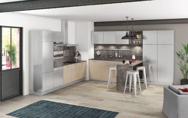 Meuble de cuisine  nos modèles de cuisine préférés City style - modele de cuisine americaine