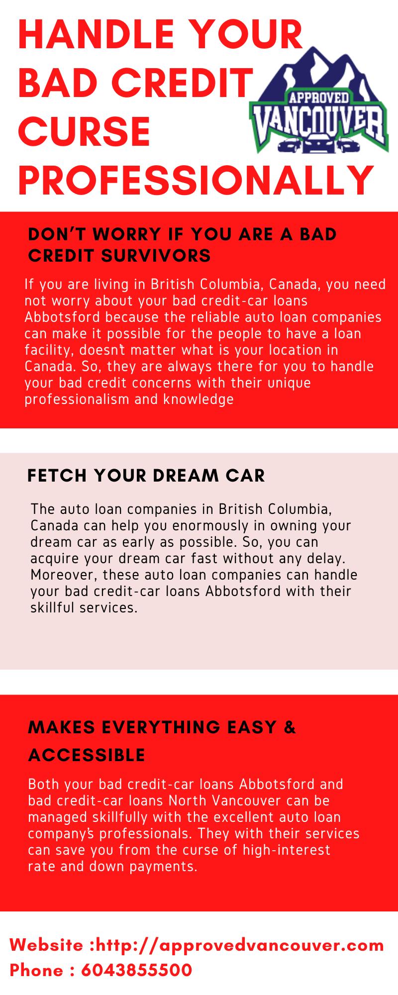 Bad Credit Car Loans Vancouver In 2020 Bad Credit Car Loan Credit Cars Car Loans