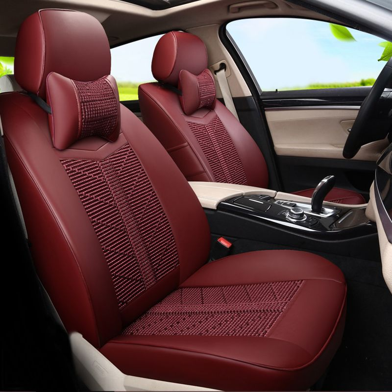 New Styling Car Seat Cover Set Custom Fit Seat Covers