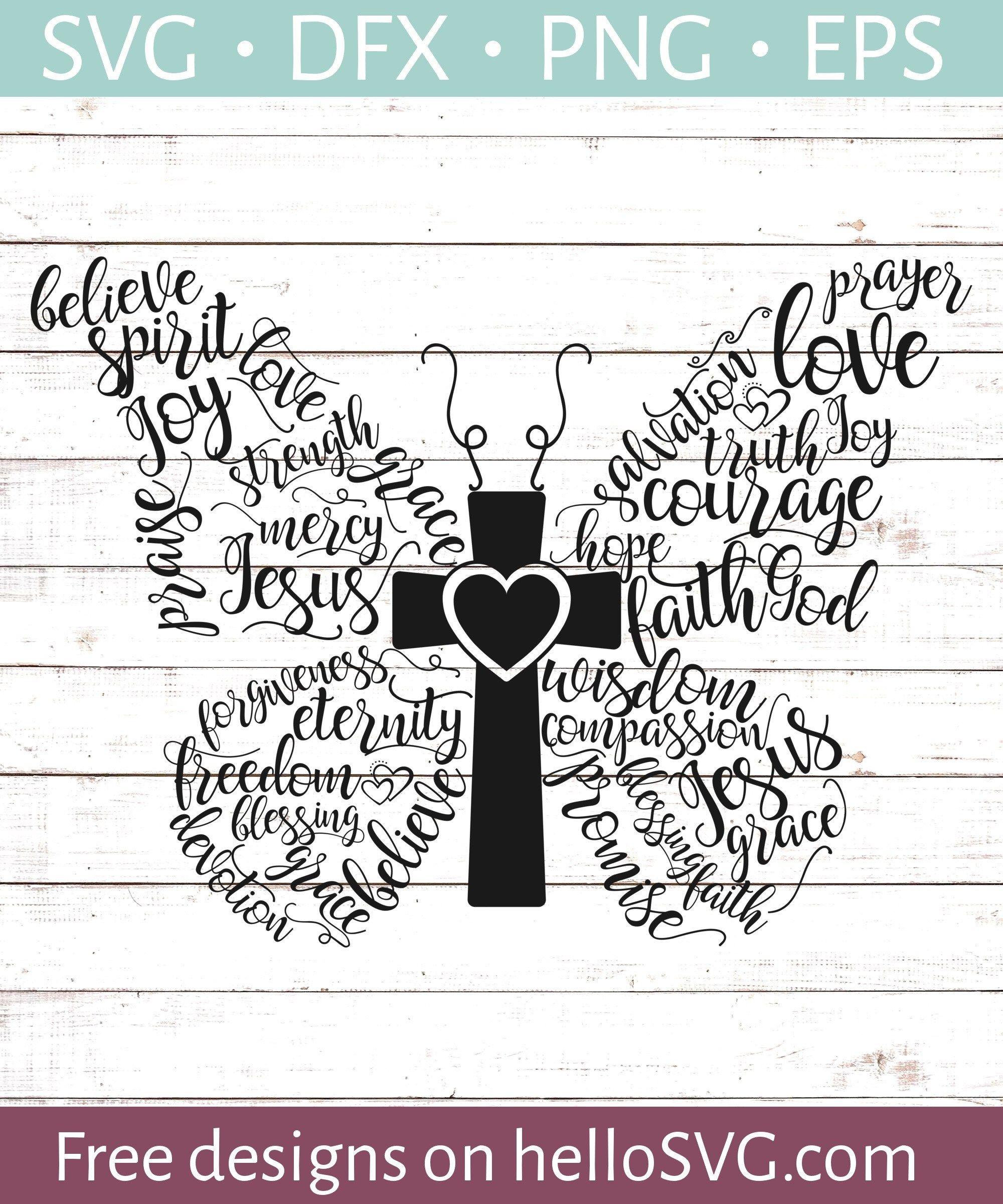 Christian Butterfly Svg Free Svg Files Hellosvg Com Butterflies Svg Svg Files For Cricut Svg Free Files
