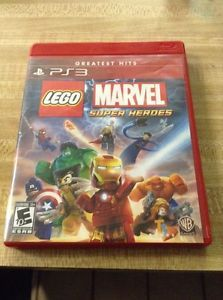 Lego Marvel Super Heros Greatest Hits Ps3
