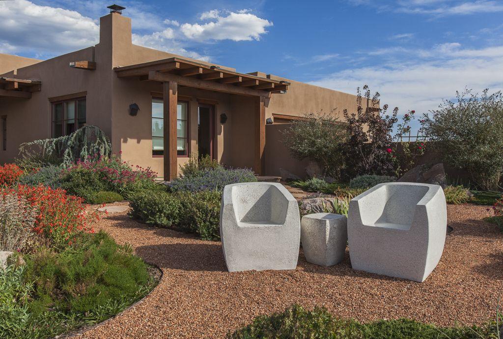 Unique outdoor furniture.