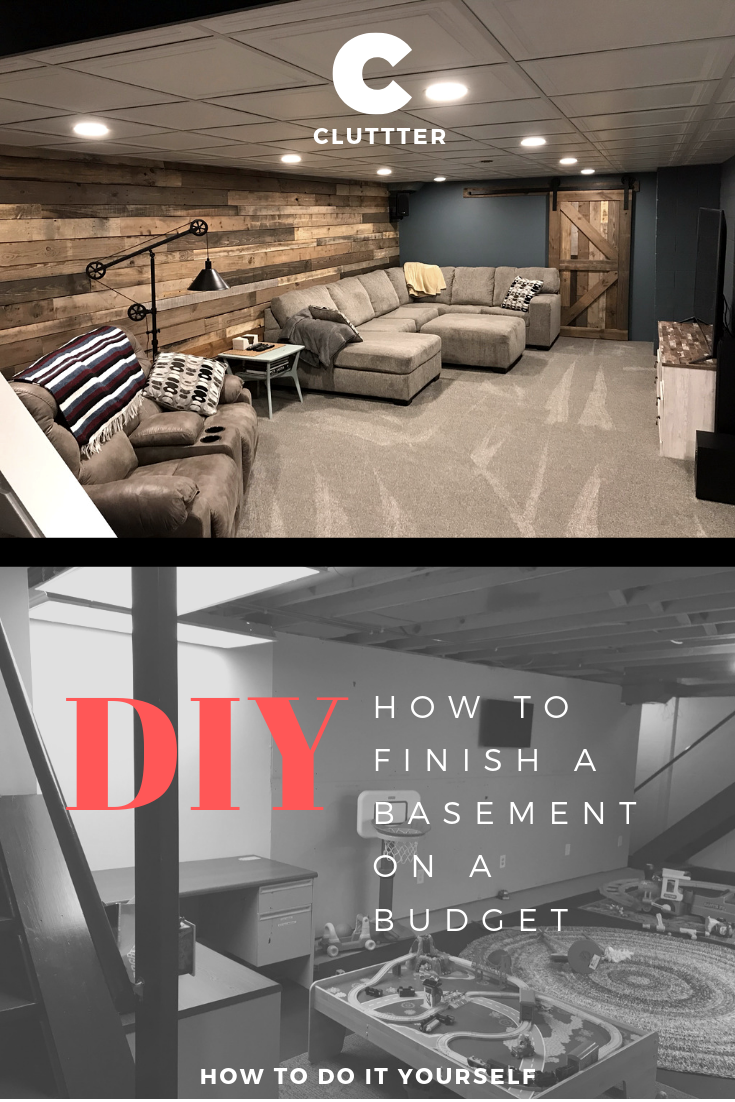 Diy How To Finish A Basement On