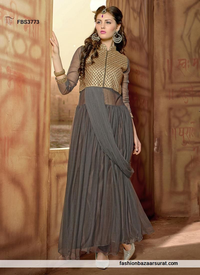 indian designer gowns online, long evening gowns online   Indian ...