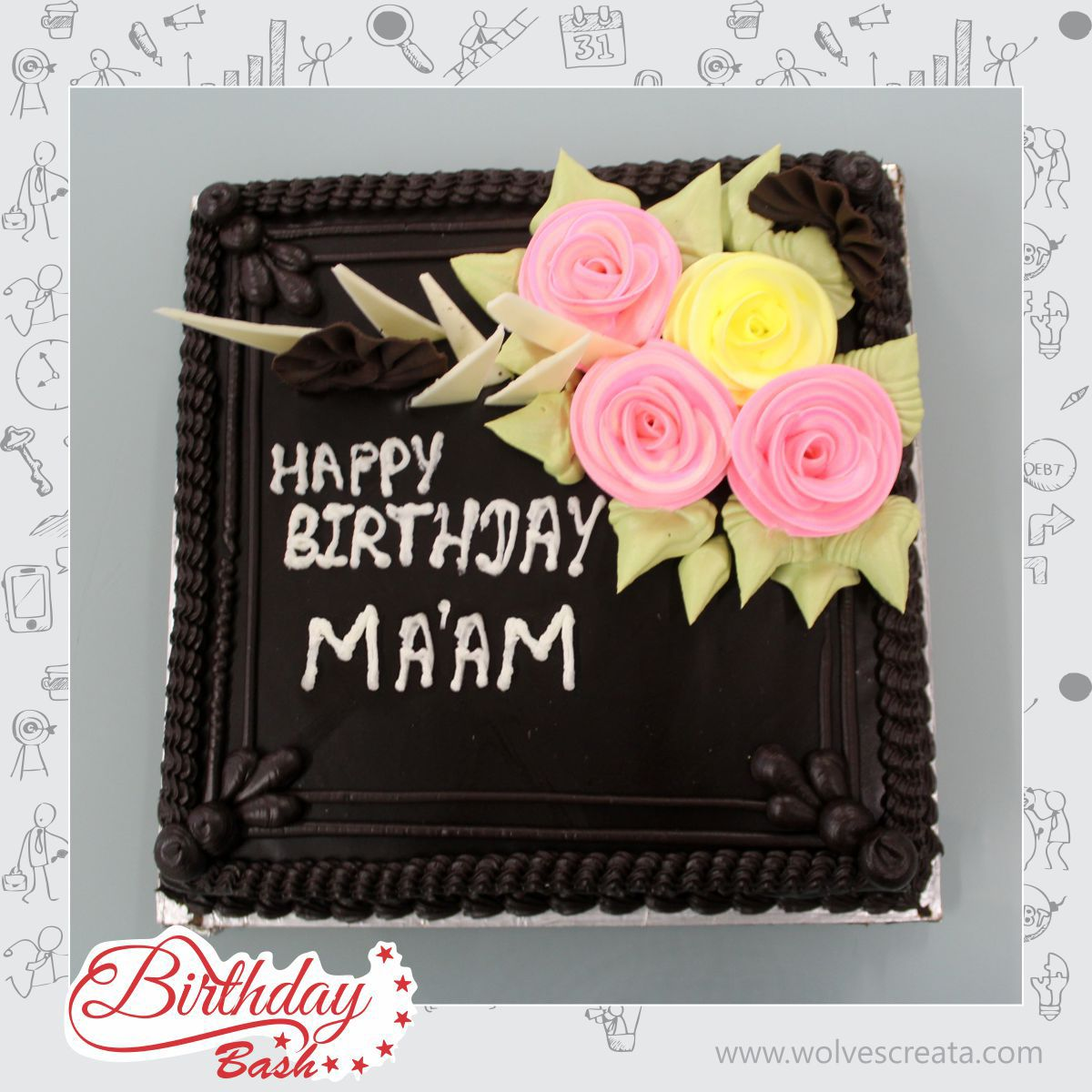 Happy Birthday To The Woman Who Wears Many Hats May God Bless You