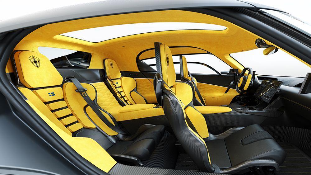 Koenigsegg S Insane New 4 Seat Supercar Has Enough Room For The Whole Family In 2020 Koenigsegg Super Cars Geneva Motor Show