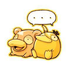 Slowpoke And Psyduck Psyduck Pokemon Baby Pokemon