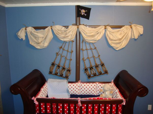 Pirate Pirate baby rooms, Pirate nursery, Pirate baby