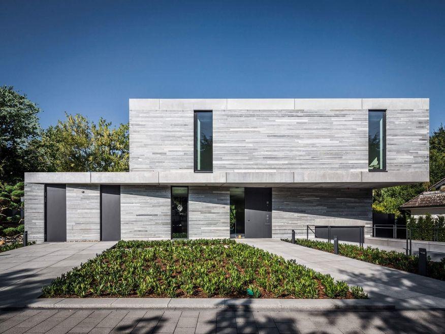 moderne Häuser Wohnhaus Köln Hahnwald Corneille Uedingslohmann Architekten