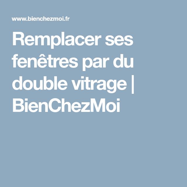 Remplacer Fenetre Bois Par Pvc