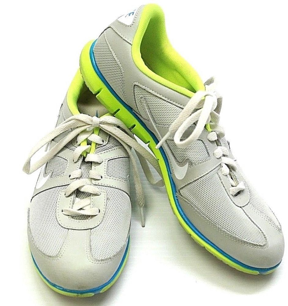 Women's Nike OCEANIA NM Running Athletic Shoes Gray Green #443937-003 Size 9.5