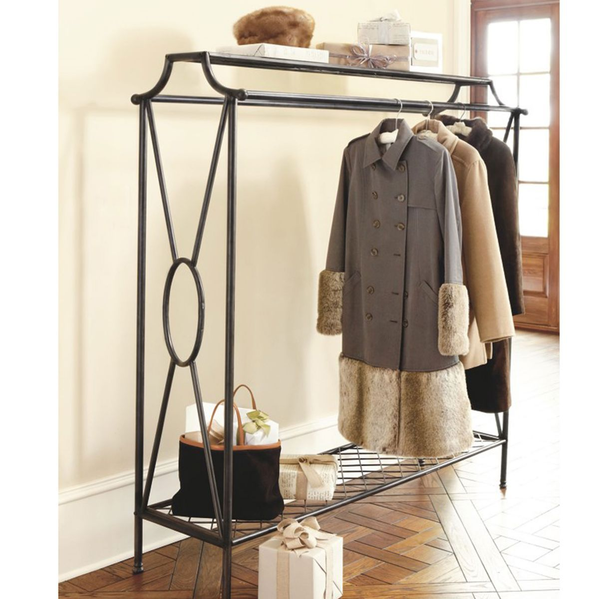 Niles Double Coat Rack Great For Parties