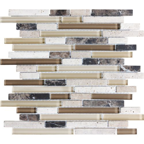 Java Stone And Gl Mosaic Wall Tile
