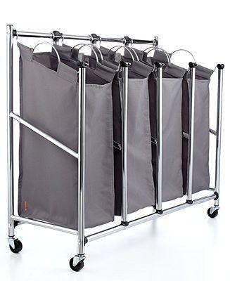 Hampers Quad Everfresh Laundry Sorter Laundry Sorter Laundry