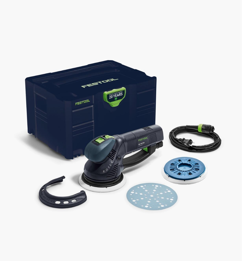 Festool Emerald Edition Rotex Ro 150 Sander Festool Ergonomic Grip Edge Protectors
