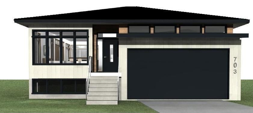 pics for > modern exterior bungalow house design | amesbury