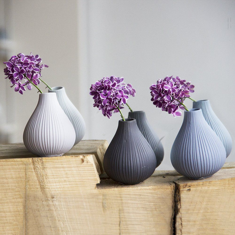 Chive Frost Round Clay Pottery Flower Vase Decorative Vase for Home ...