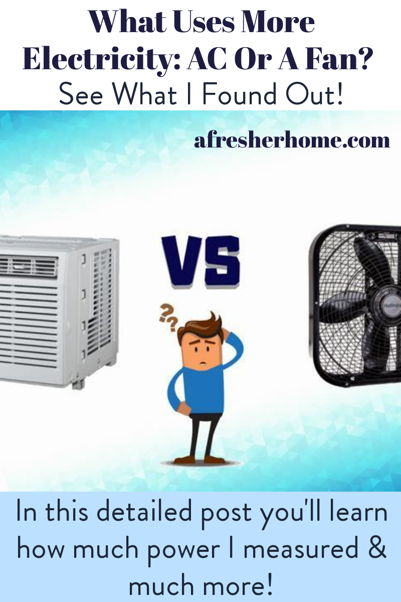 What Uses More Electricity AC Or A Fan? See What I Found