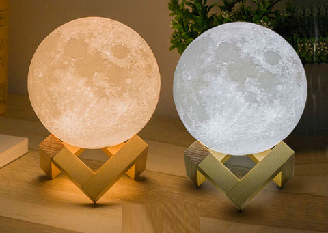 3d Night Light Moon Lamp 3d Night Light Night Light 3d Printing Service