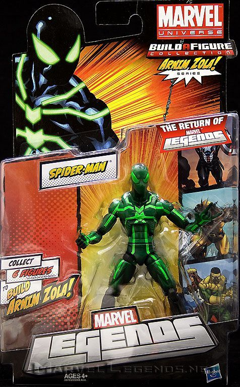 Marvel Legends Arnim Zola Series Big-Time Spider-Man