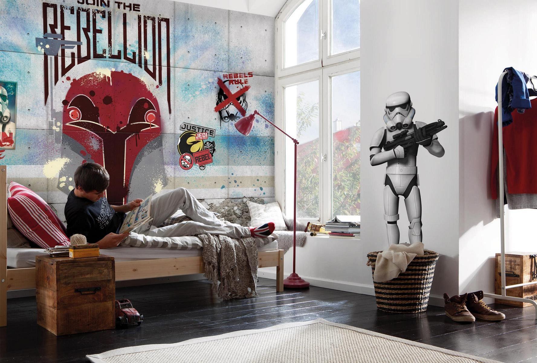Jugendzimmer Im Star Wars Look