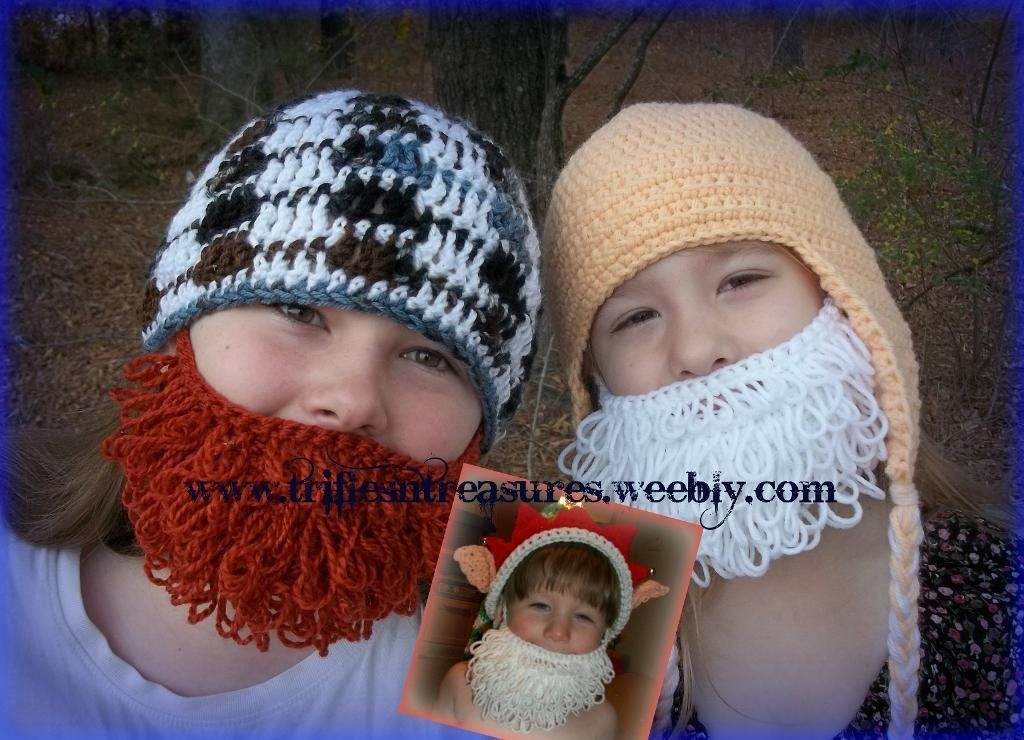 Loopy Beard Knitting Whimsy Pinterest Knit Patterns Crochet