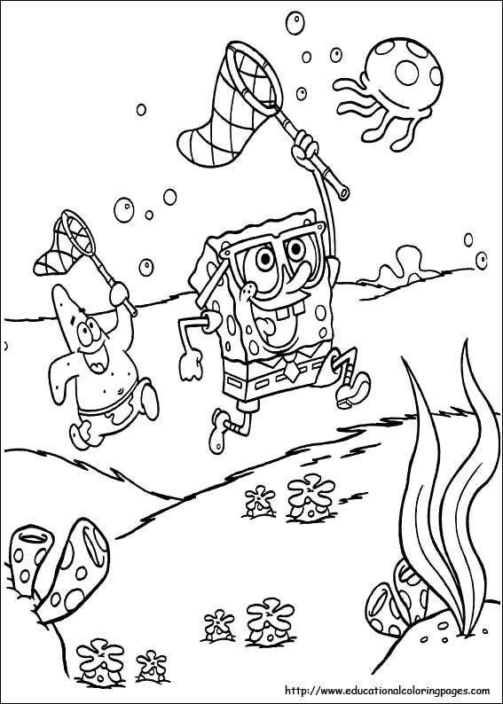 spongebob colouring picture | Coloring Pages * Miscellaneous ...