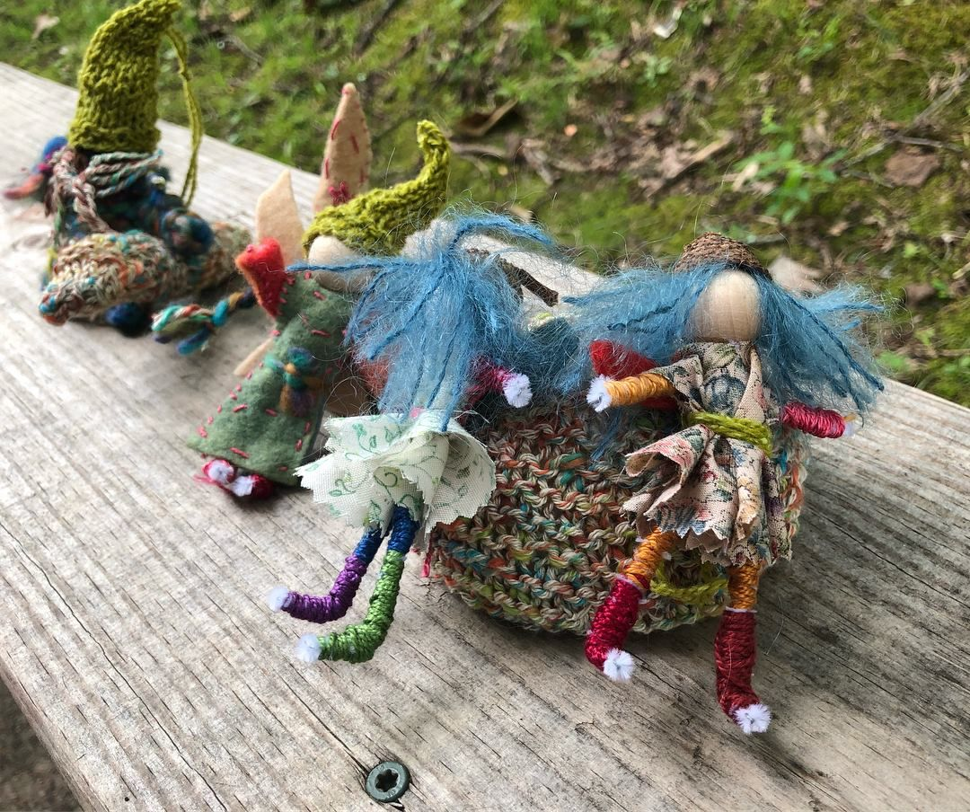 Handwork crafts by students at alabama waldorf school
