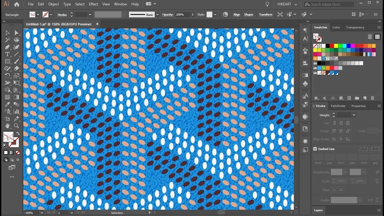 How To Create Goyard Pattern In Adobe Illustrator