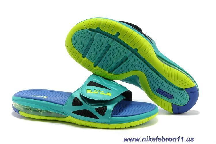 Nike Air Nike Lebron 2 Elite Slide 578251 350 Sport Turquoise Volt Violet Force Schuhe