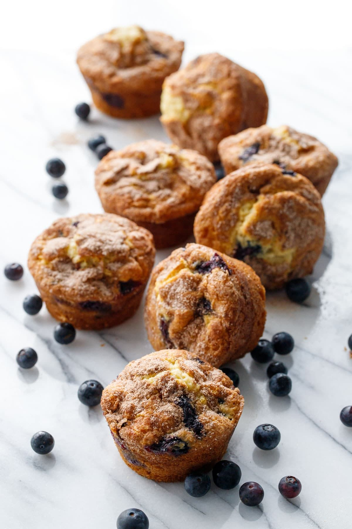 Blueberry Coffee Cake Muffins Love and Olive Oil
