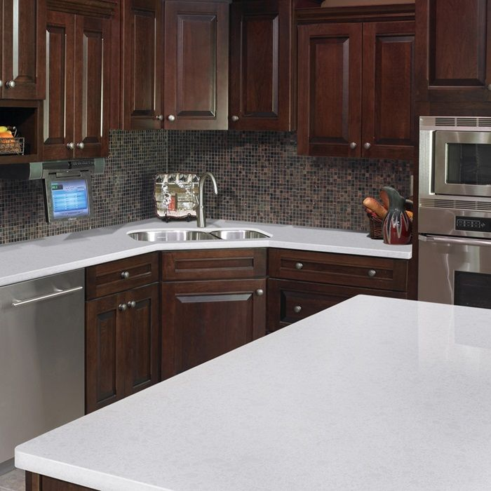 St Helens White Quartz Arizona Tile Quartz Slab White Quartz Quartz Countertops