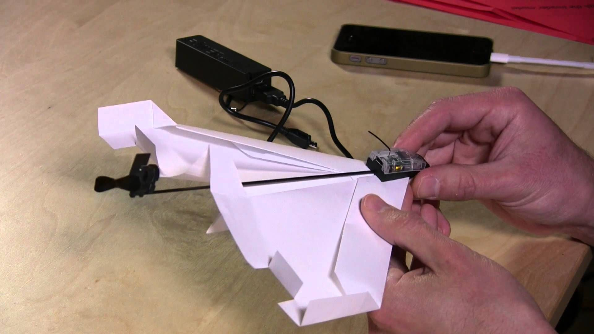 Powerup review fly a paper airplane with iphone or android