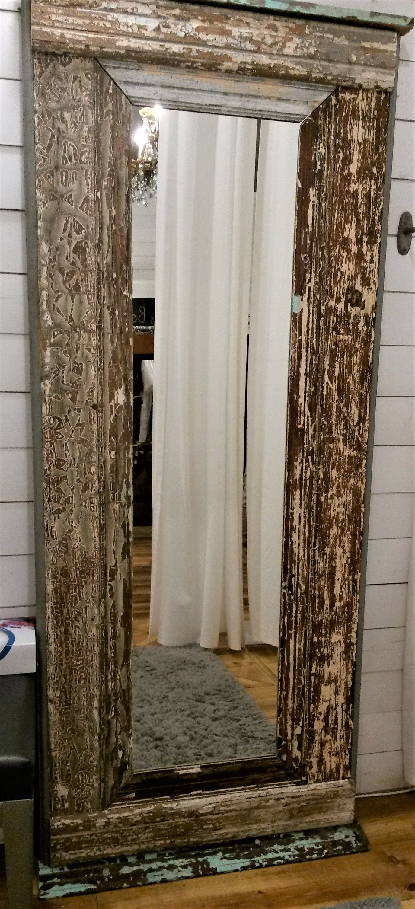Diy 6ft Tall Free Standing Mirror From