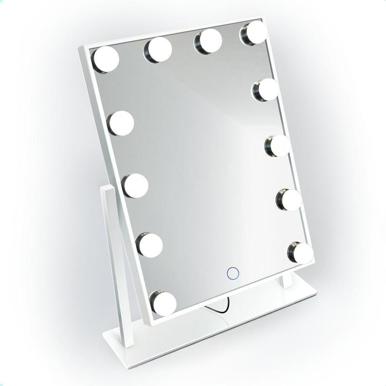 Dimmable Mini Hollywood Mirror Portable Led Vanity Makeup Mirror