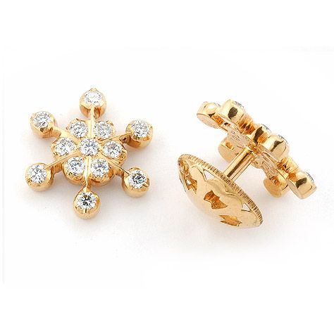 Traditional Diamond Studs Designer Jewelry Design Earrings
