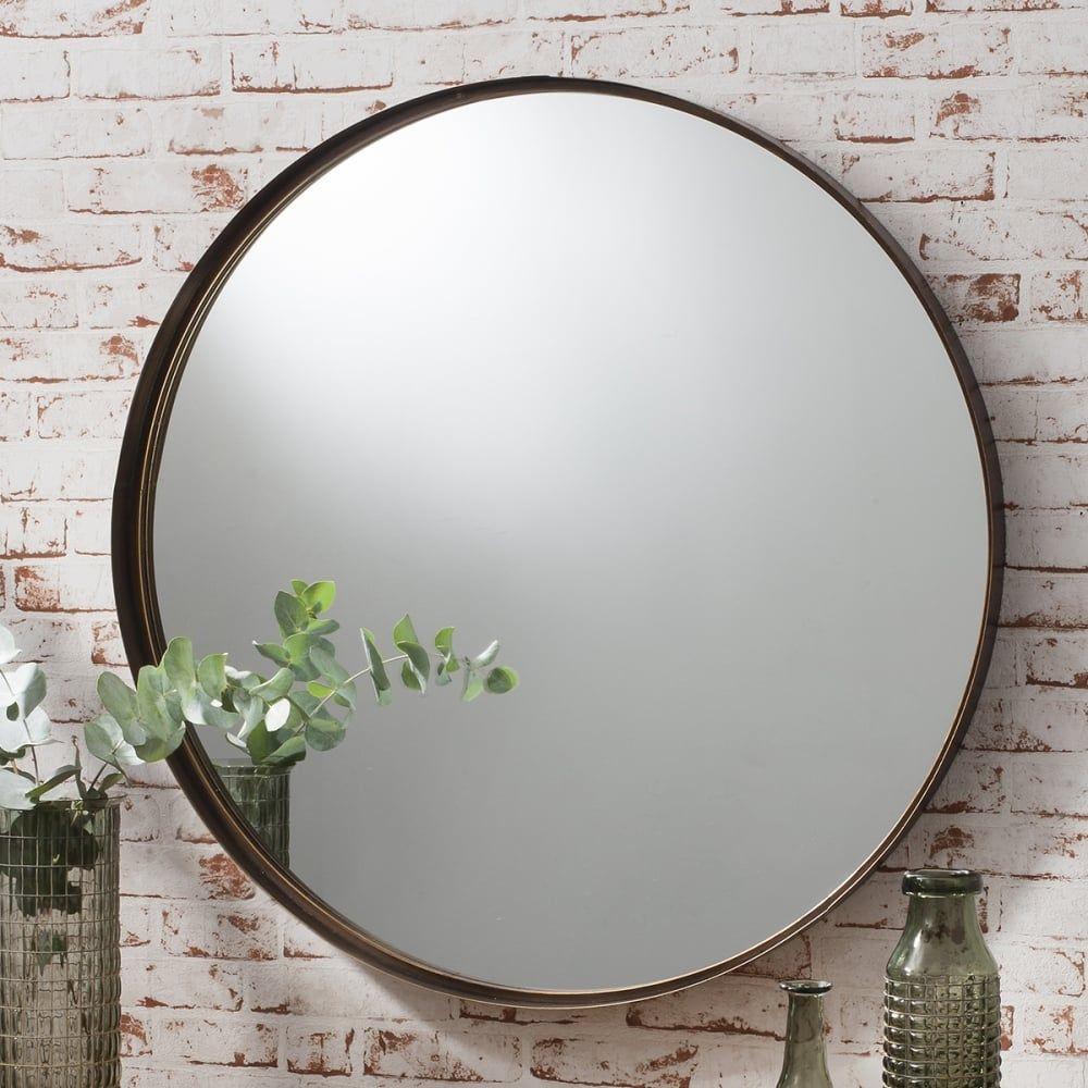 harper large metal round wall mirror bronze. harper large metal round wall mirror bronze  bedroom  pinterest