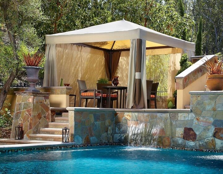 Beautiful Gazebo Designs for Your Swimming Pool | Pools ...