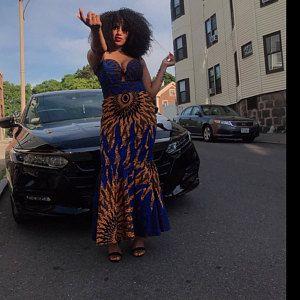 Afrikanische Kleidung für Frauen, Ankara. Afrikanische Kleid, afrikanische Maxi-Kleid, afrikanische Frauen Kleidung, Kleid, afrikanischen print Kleid